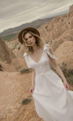 Свадебное платье бохо