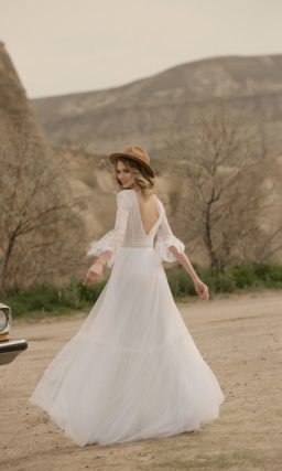 Свадебное платье в стиле «бохо»