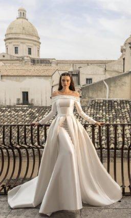 Свадебное платье «рыбка-трансформер»