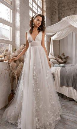 Платье свадебное в греческом стиле