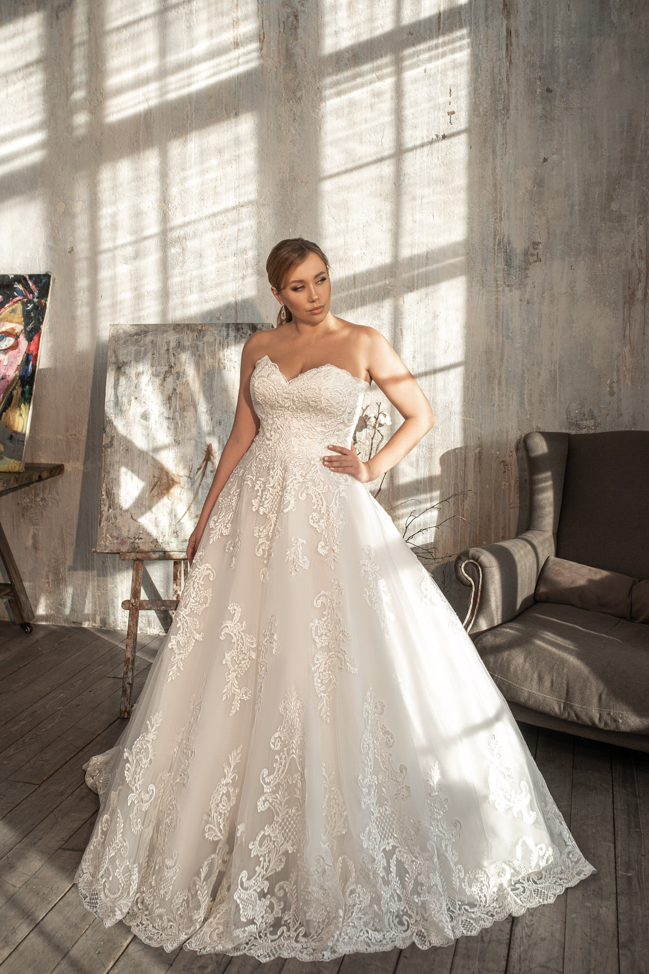 Свадебное платье Naviblue Bridal 82606 Ivory PS — купить в