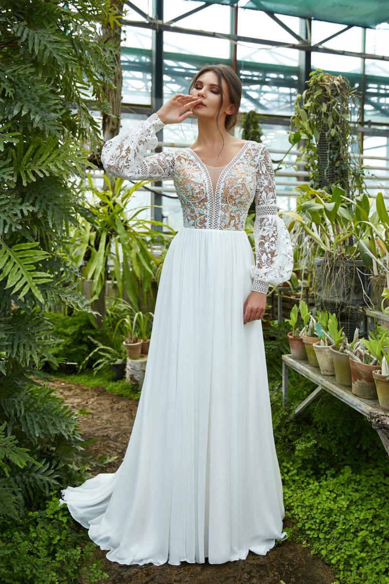 свадебное платье в этно стиле