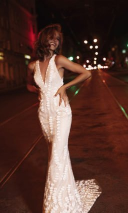 Необычное платье русалка