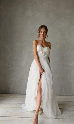 Романтичное свадебное платье-трансформер