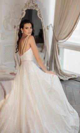 Платье свадебное в ампирном стиле