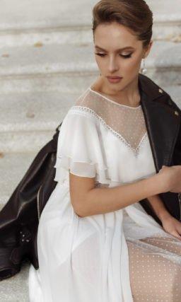 Свадебное платье с нотками ретро