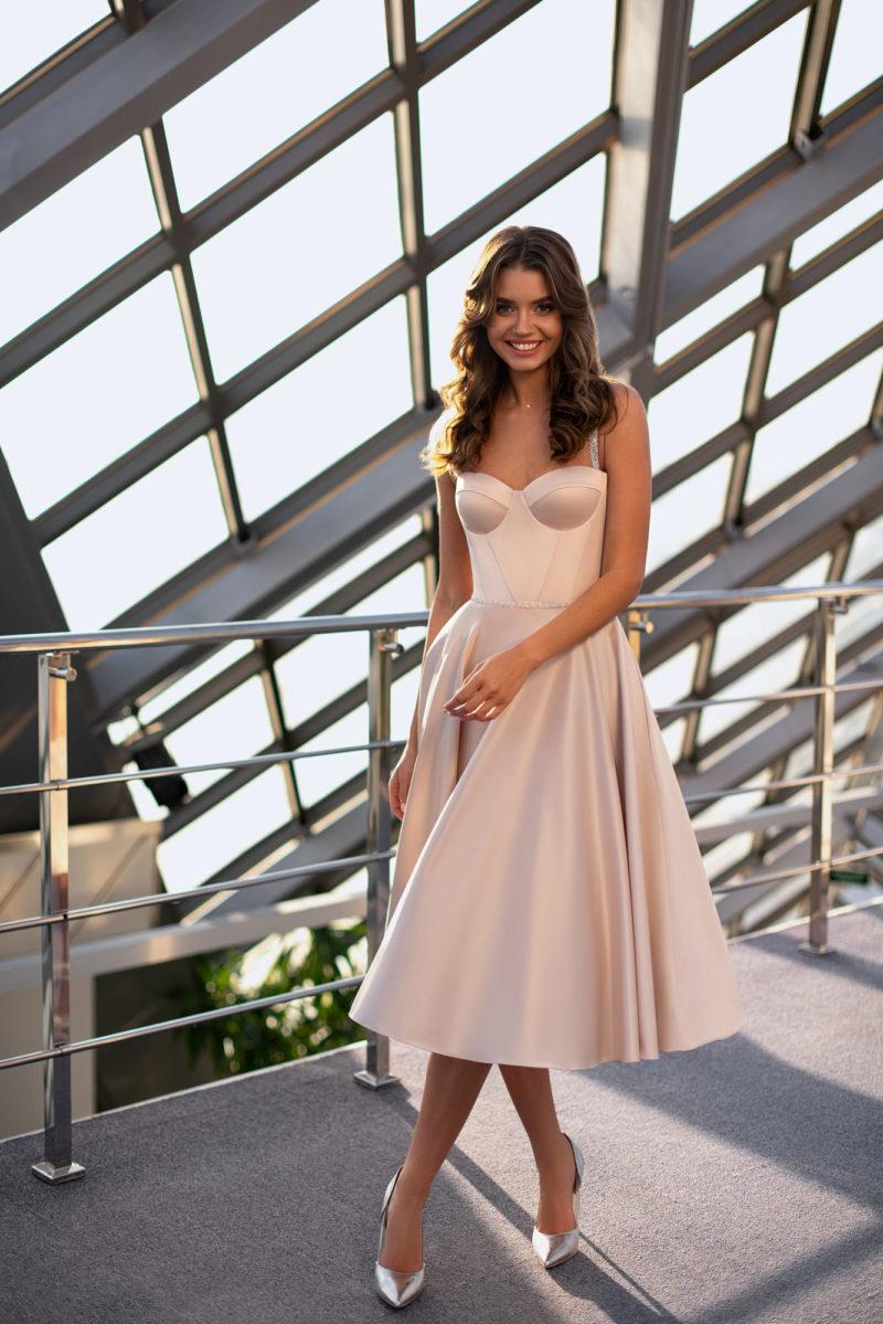 Короткое платье на роспись