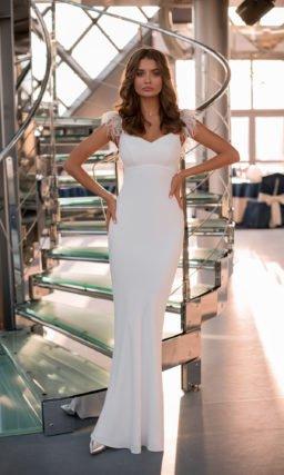 платье «русалка» с узкой юбкой