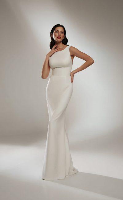 Простое красивое платье русалка